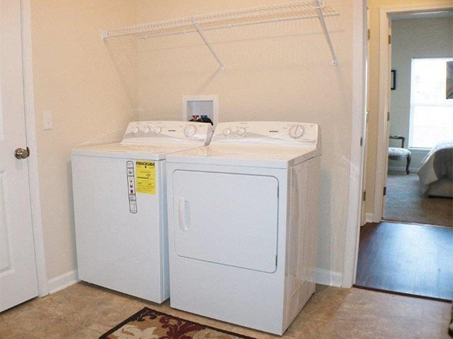 Laundry Room at Pleasant Meadows