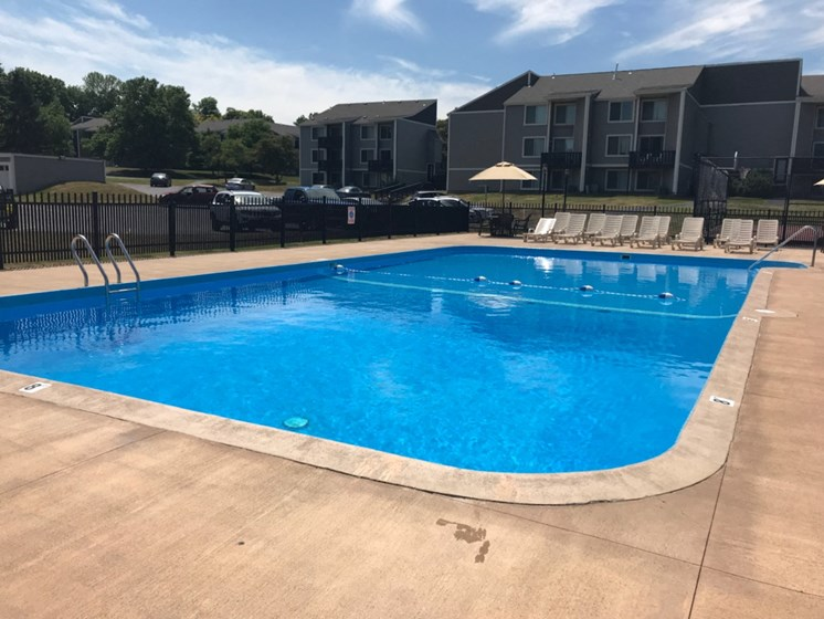 Beautiful Large Swimming Pool at Whitney Ridge Apartments, Rochester, NY