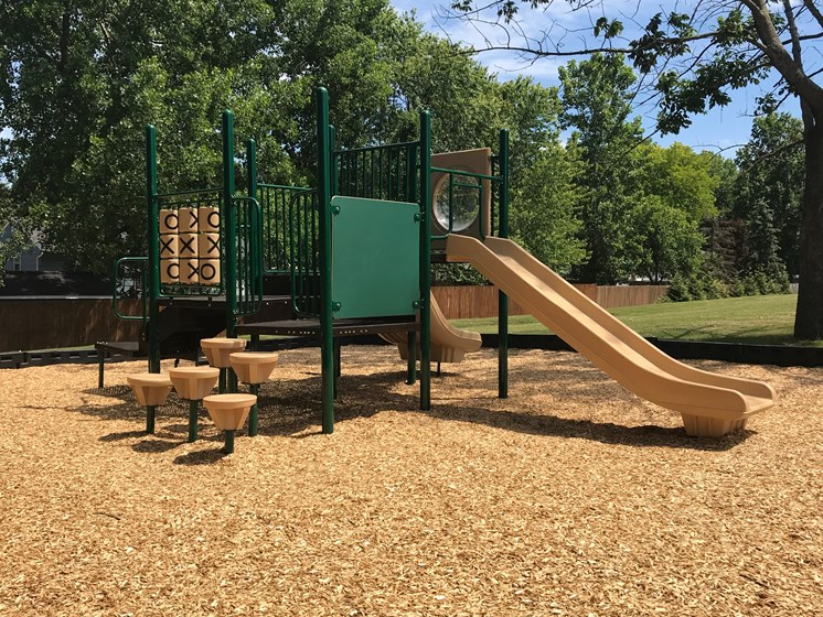 Playground with Slide at Whitney Ridge Apartments, Rochester, NY