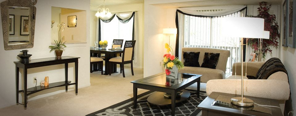 Modern Upscale Living Room at Whitney Ridge Apartments, Rochester, NY