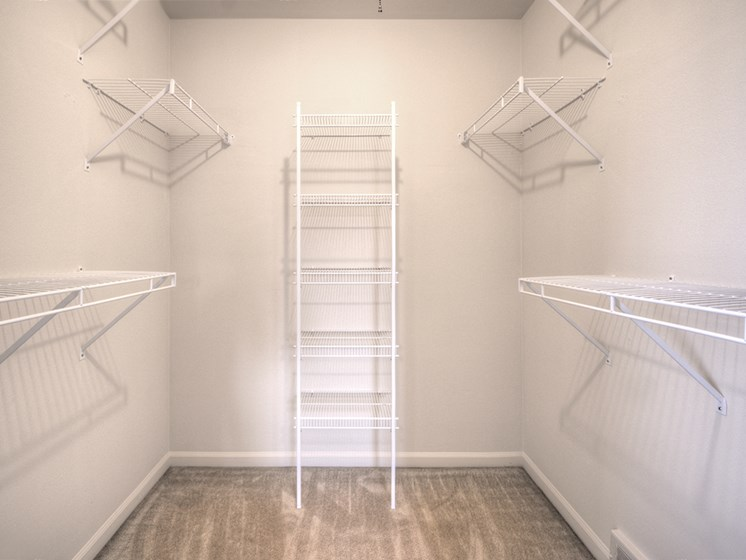 Large Walk-In Closet at Georgetown Apartments, Williamsville, NY