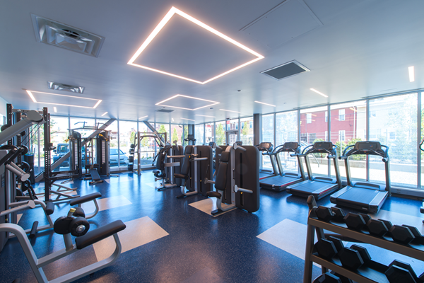 State of the Art Fitness Center with Yoga Studio The Foundry at 41st New Apartments, Lawrenceville 15201