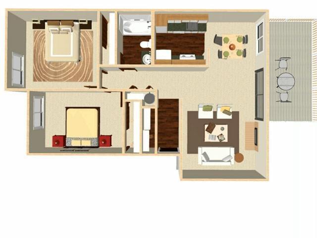 Maple Floor Plan 3