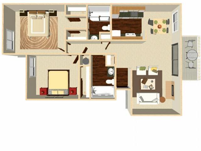 Spruce Floor Plan 4