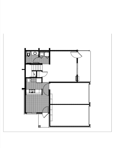 Unit A Floor Plan 1