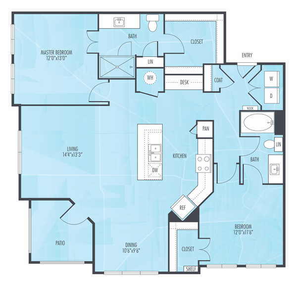 1 2 bedroom apartments in houston tx everly apartments - 2 bedroom apartment in houston texas ...