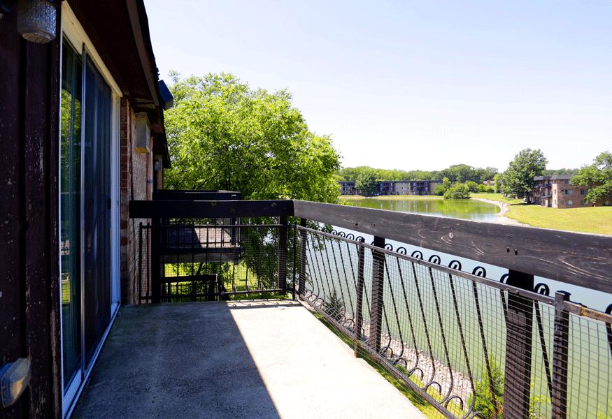 at Hickory Ridge Lake Apartments, Merrillville, Indiana