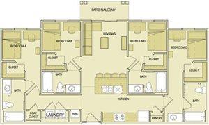 4 Bedroom, 4 Bathroom