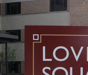 Lovell Square Kalamazoo Sign
