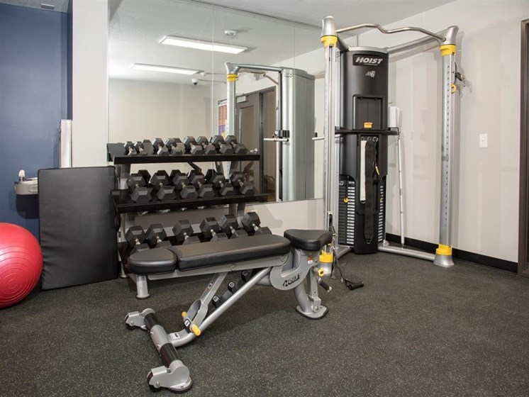 Free Weights at The Commons of Inver Grove, Inver Grove Heights, MN