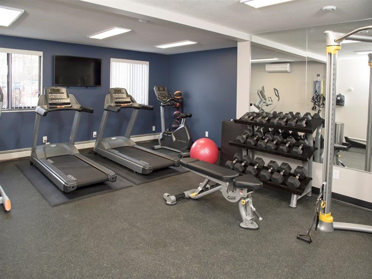 High-Tech Fitness Center at The Commons of Inver Grove, Inver Grove Heights, Minnesota