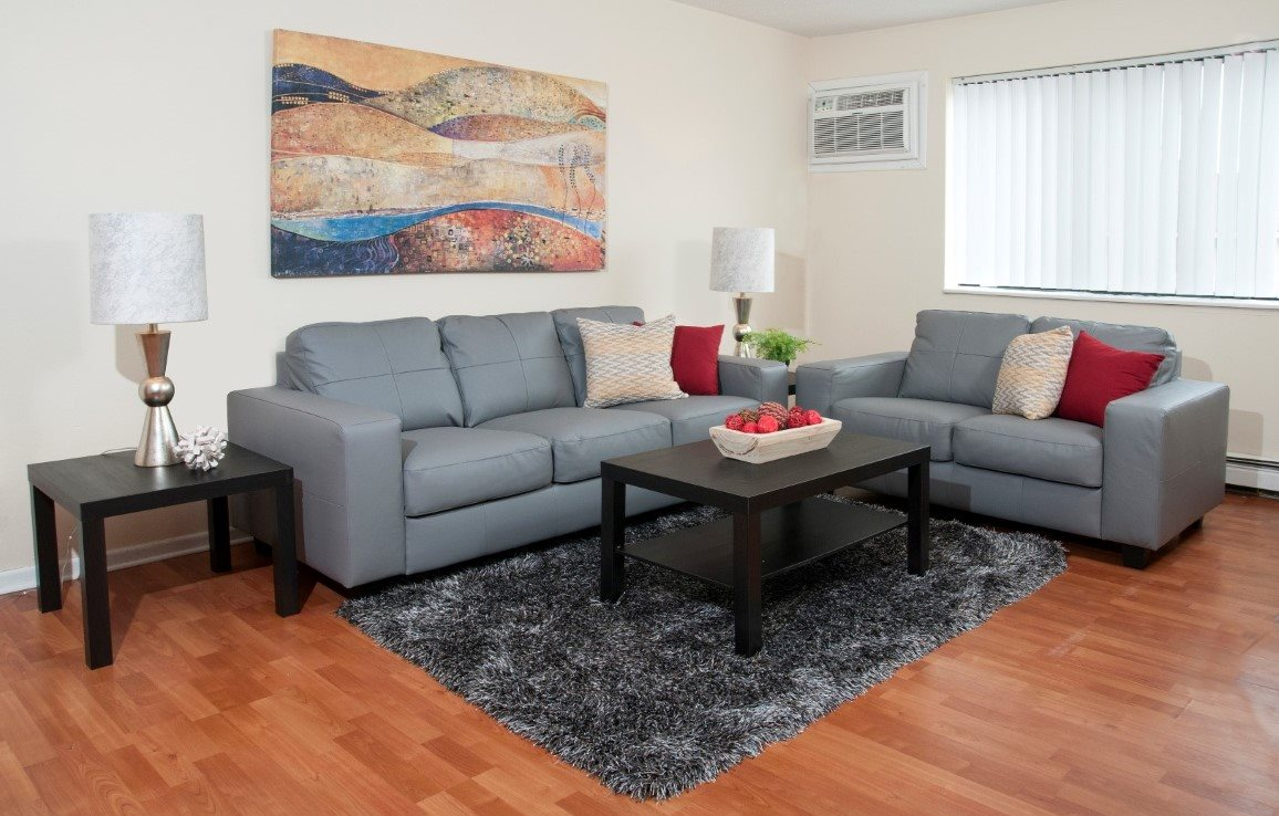 Lively Living Rooms at The Commons of Inver Grove, Inver Grove Heights
