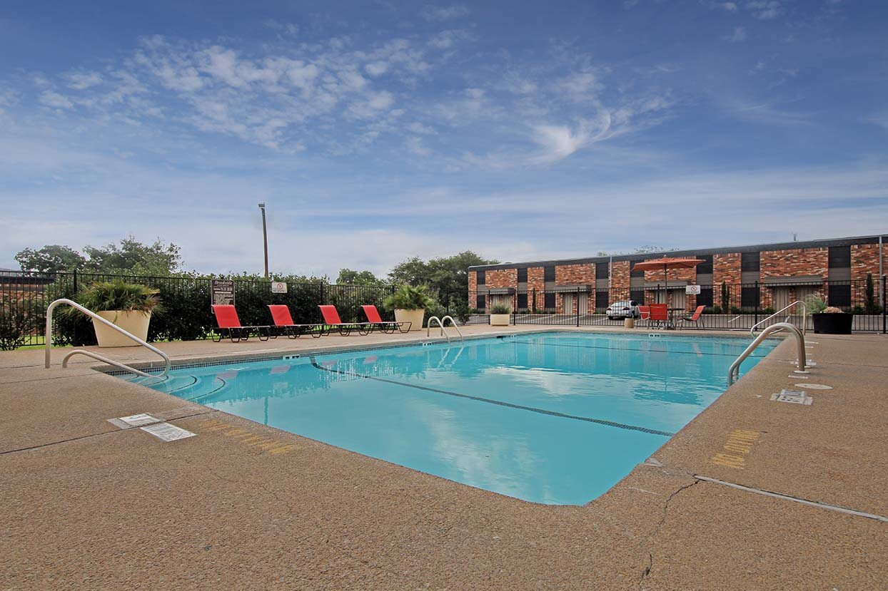 Community Pool at Brookside Apartments in TX, 76643