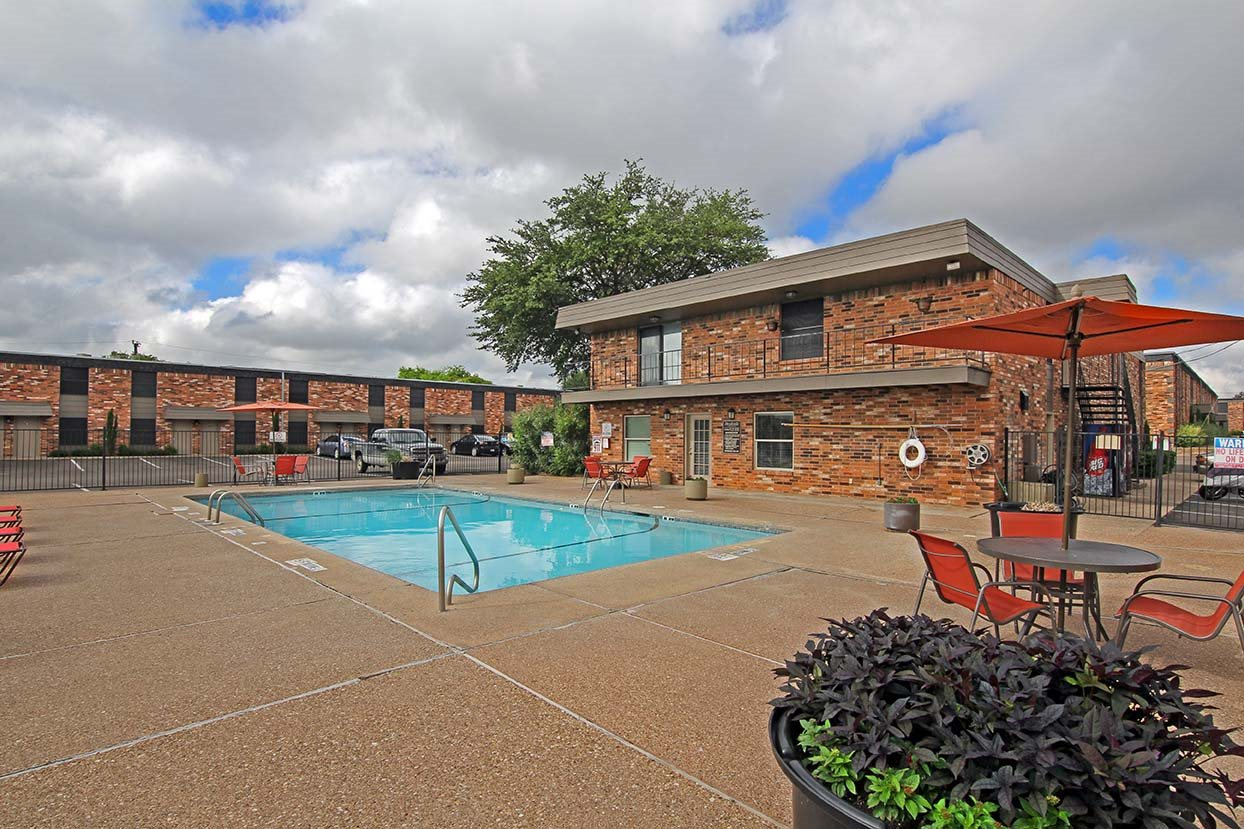 Community Swimming Pool at Brookside Apartments in Hewitt, 76643