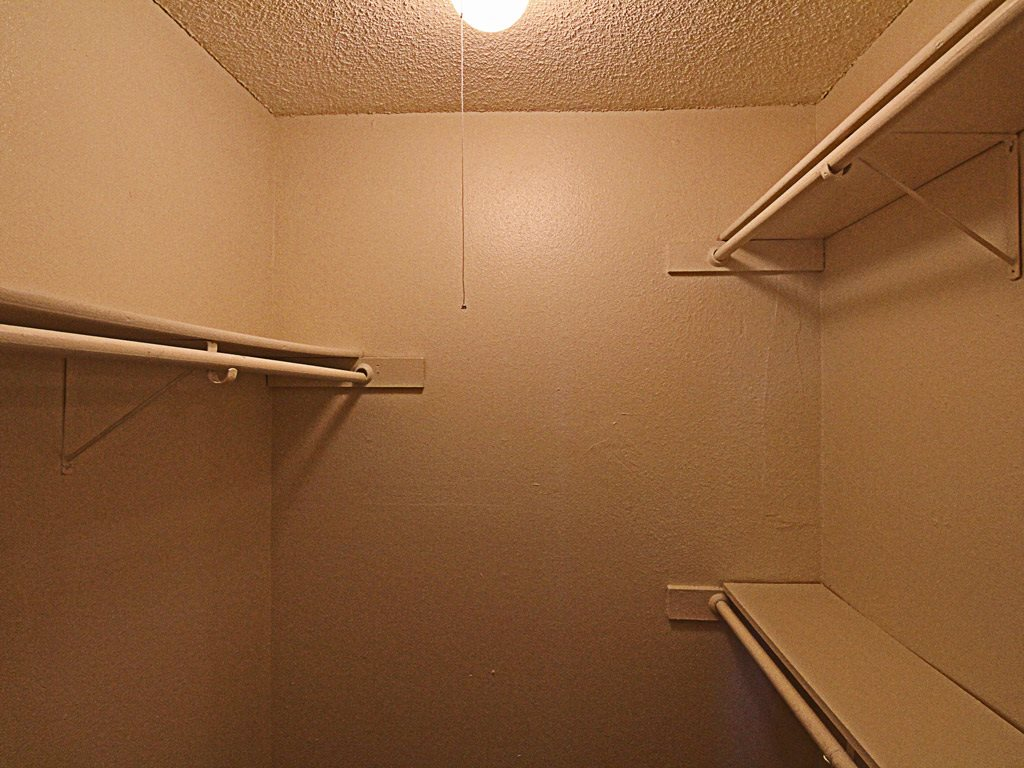 Apartment Closet at Parks on the Green, TX, 76504