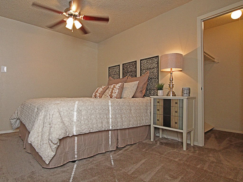 Bedroom at Parks on the Green, TX, Temple