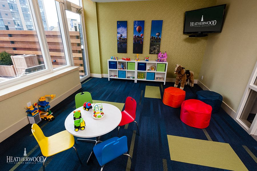 Children's Playroom, Library