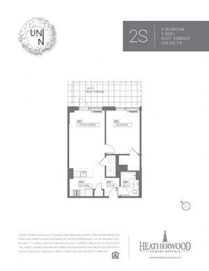 1 Bedroom - S Line with Terrace