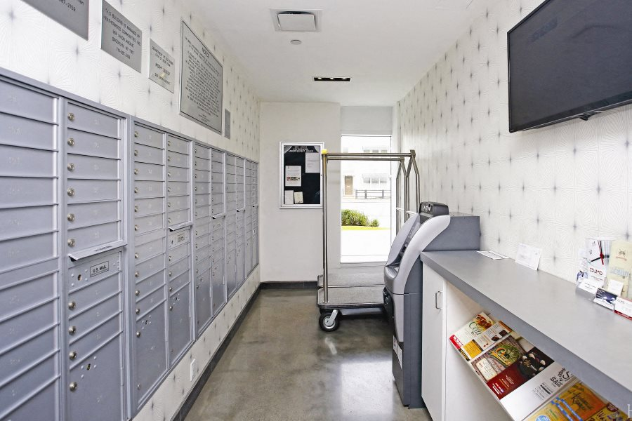 Mail Package room at 568 Union Ave Brooklyn