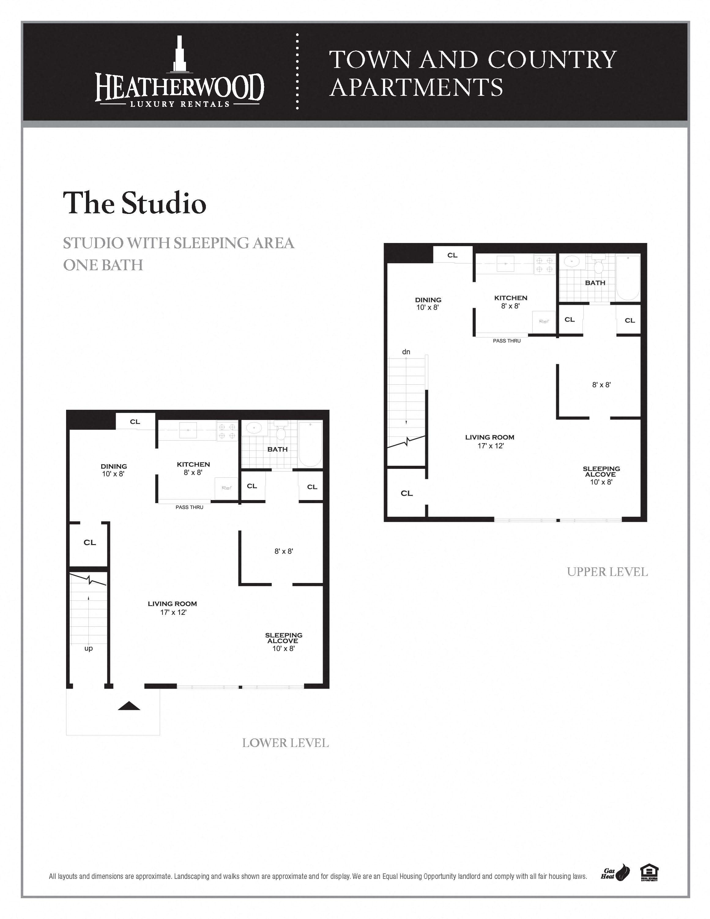 The Studio Floor Plan 1
