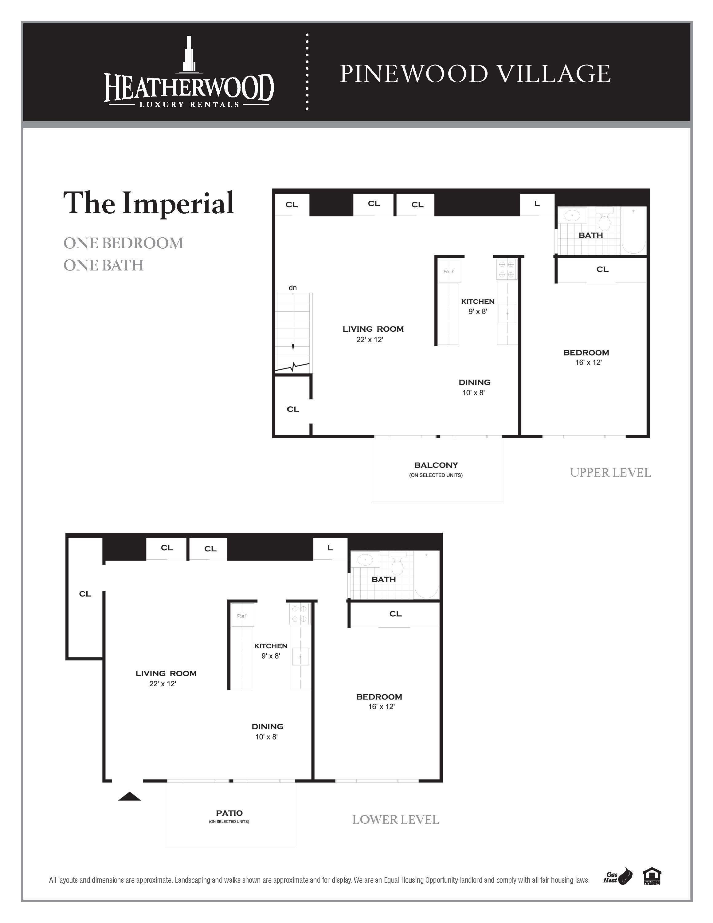 The Imperial Floorplan at Pinewood Village