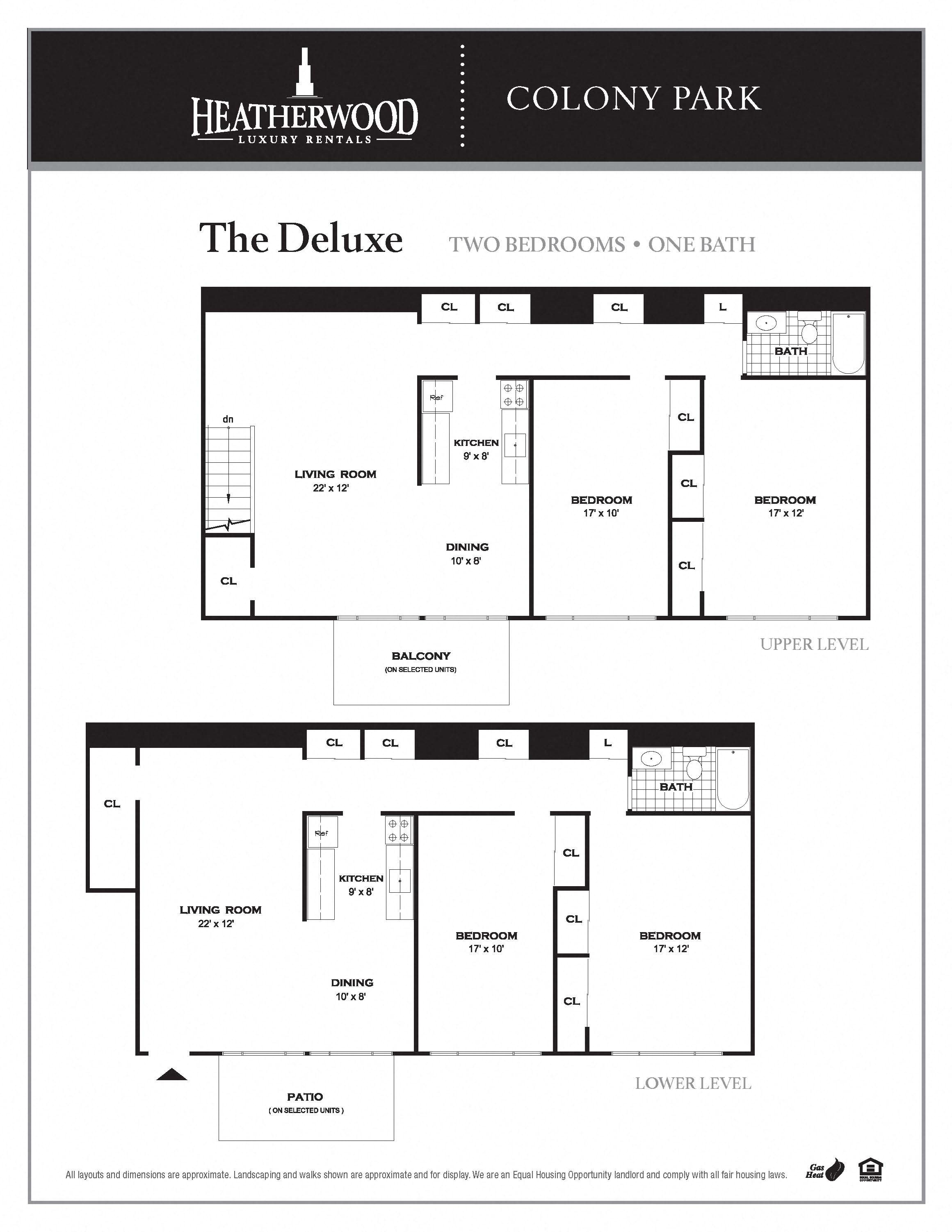 The Deluxe Floor Plan 5