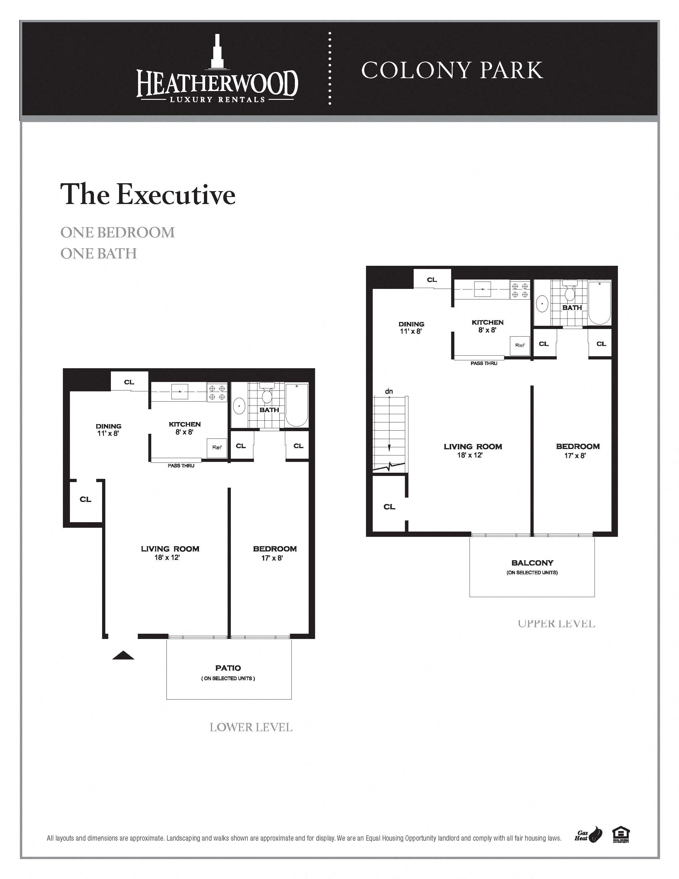 The Executive Floor Plan 3