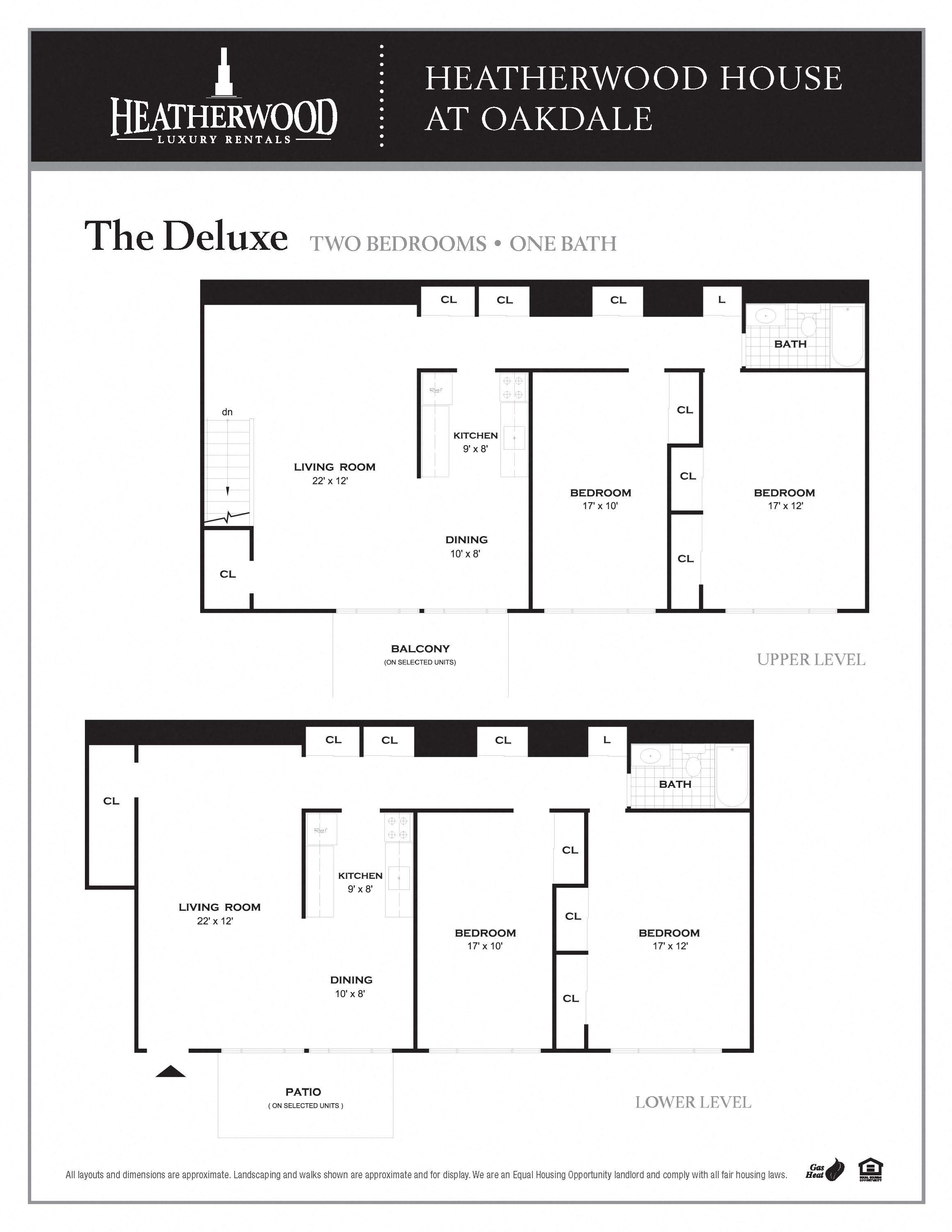 The Deluxe Floorplan at HH Oakdale