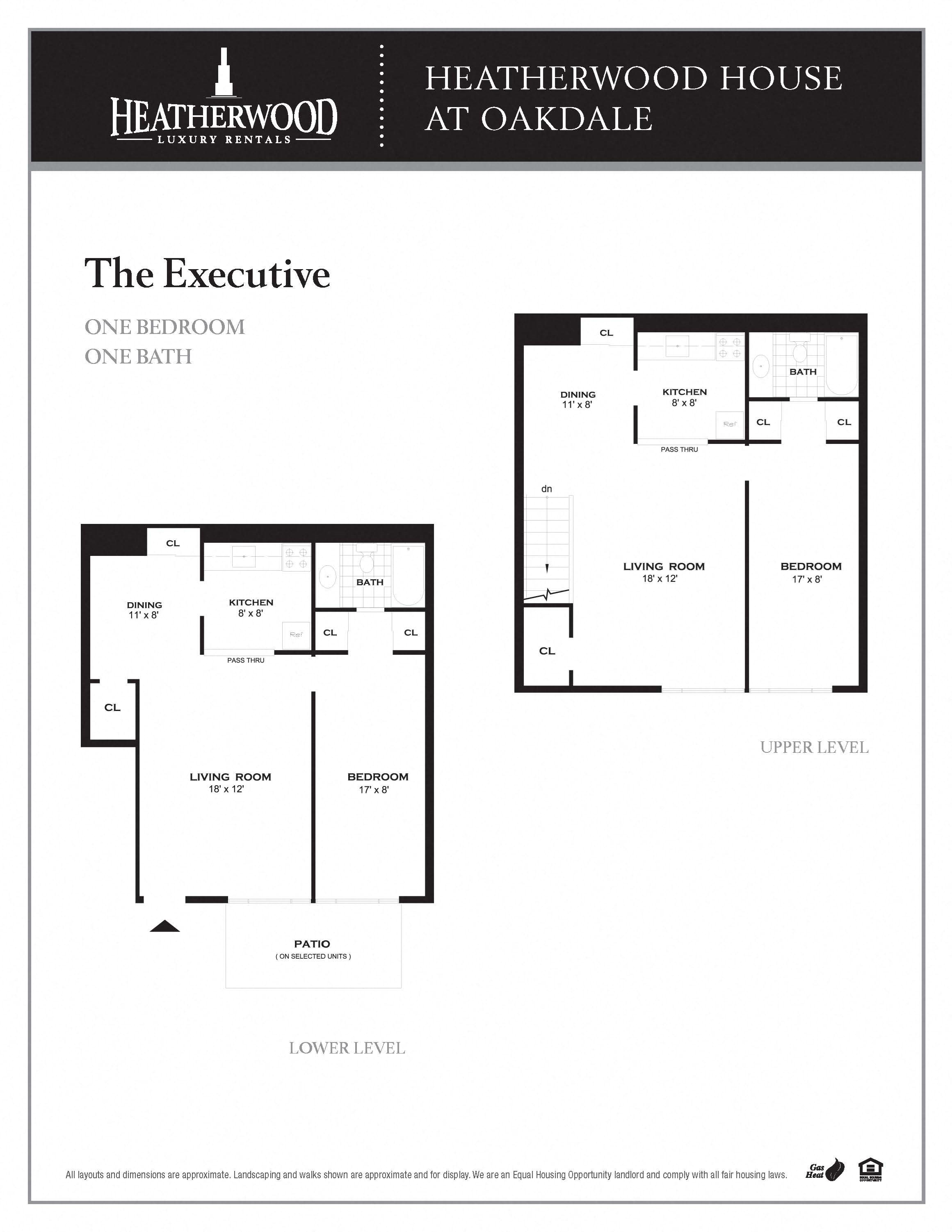The Executive Floorplan at HH Oakdale