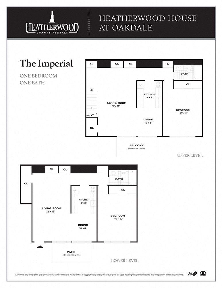 The Imperial Floorplan at Heatherwood House at Oakdale, Bohemia, New York