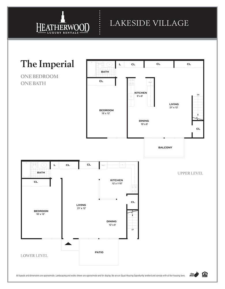 The Imperial Floorplan at Lakeside Village, East Patchogue, NY