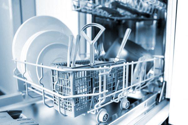 dishwasher close up