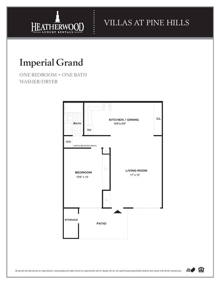 The Imperial Grand Floorplan at Villas at Pine Hills, Manorville