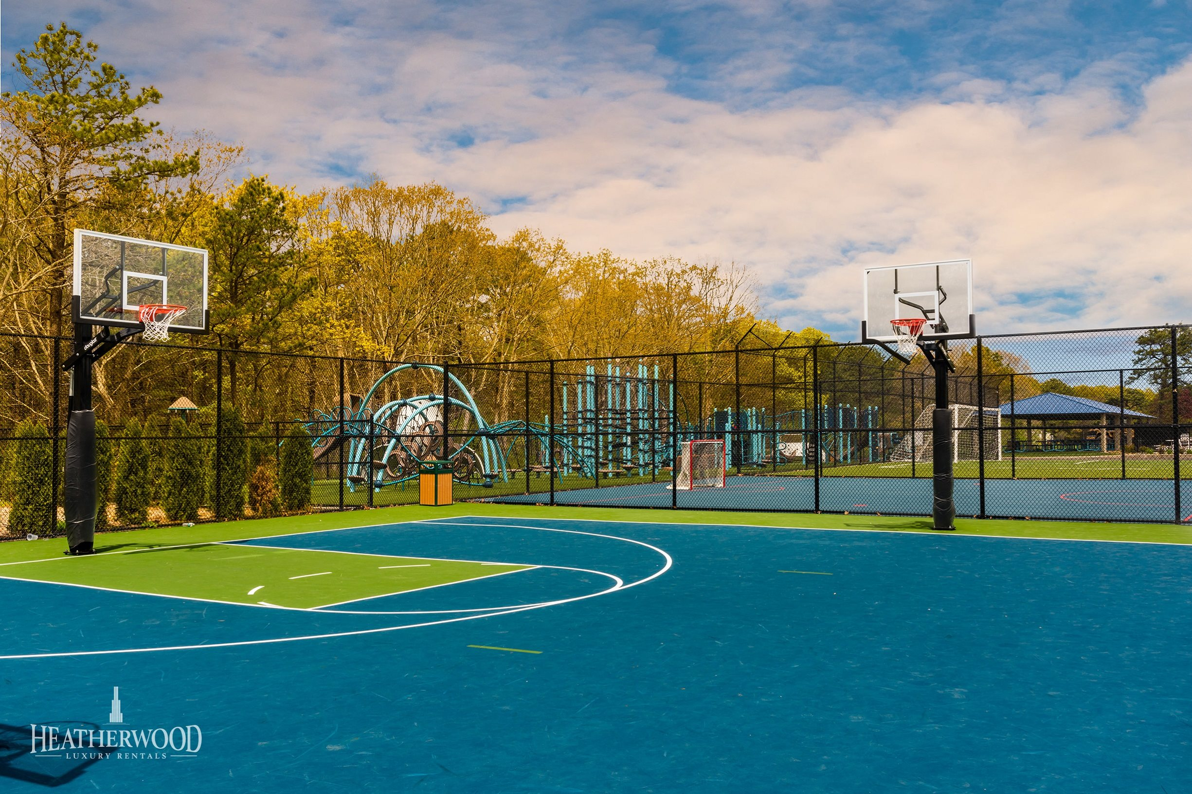 State of the Art Basketball Courts
