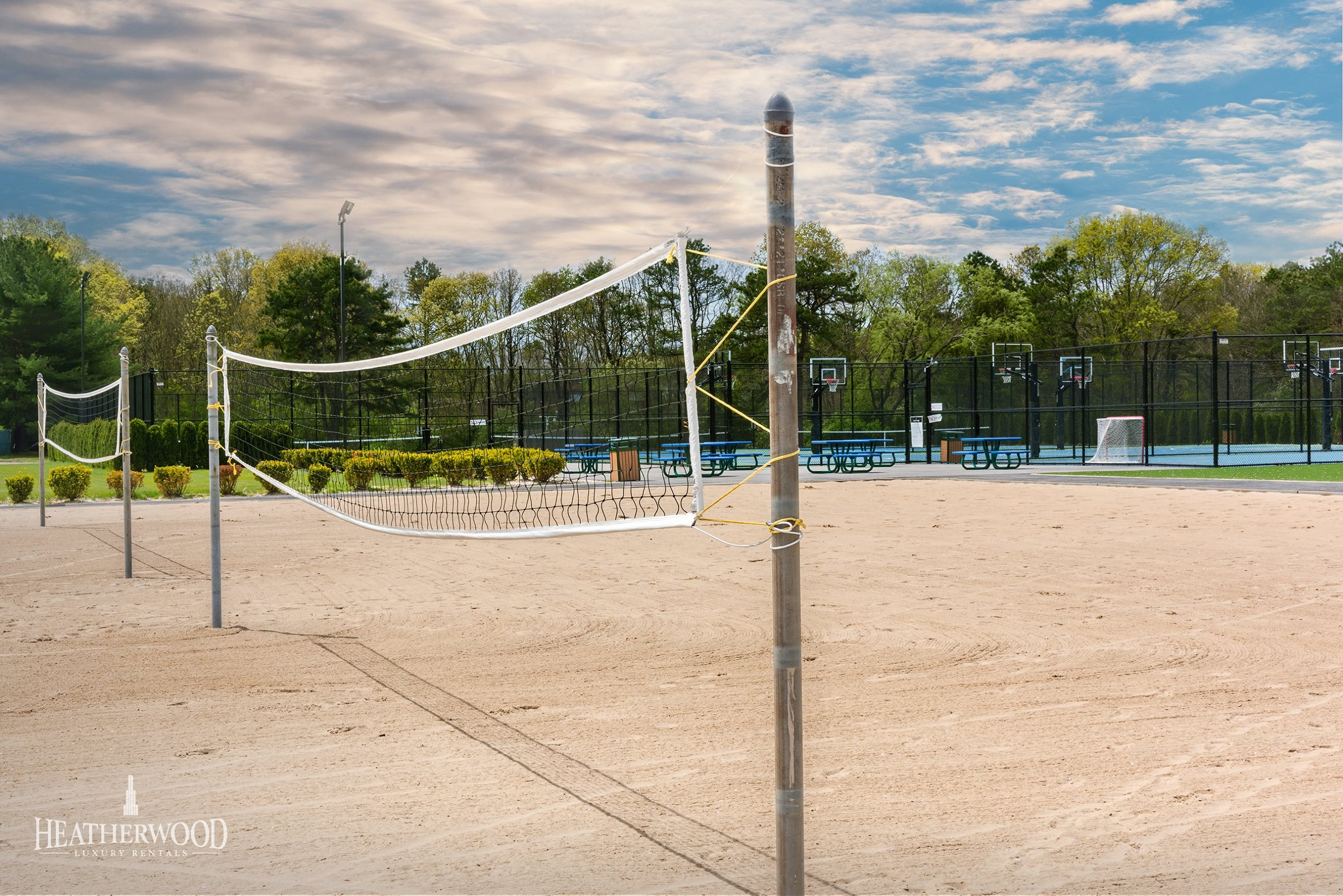 Beach Volleyball Courts at Villas  at Pine Hills