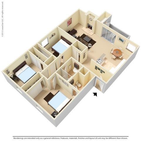 The Tupelo Floor Plan 4