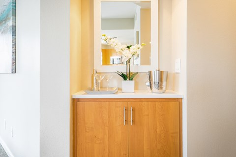 Mirror And Accessories at The Bluffs at Highlands Ranch, Highlands Ranch, CO