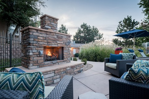 Enjoy Firepit With Friends at The Bluffs at Highlands Ranch, Highlands Ranch, Colorado