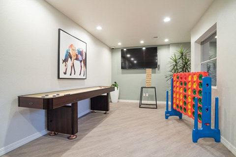 Recreation Room at The Bluffs at Highlands Ranch, Colorado