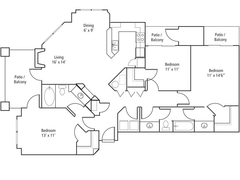 Creekside Floor Plan 8