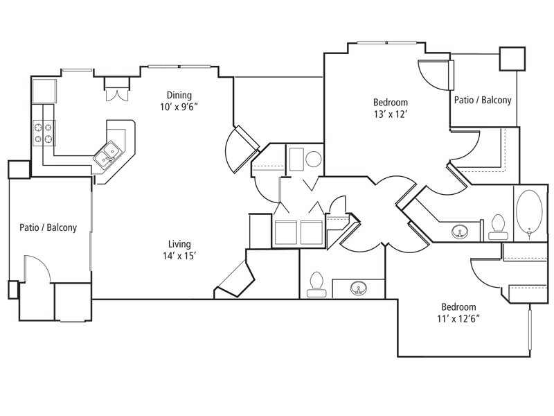 Redstone Floor Plan 6