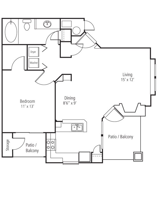 Silverleaf Floor Plan 1