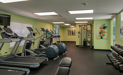Waterman's Crossing Apartments Gym
