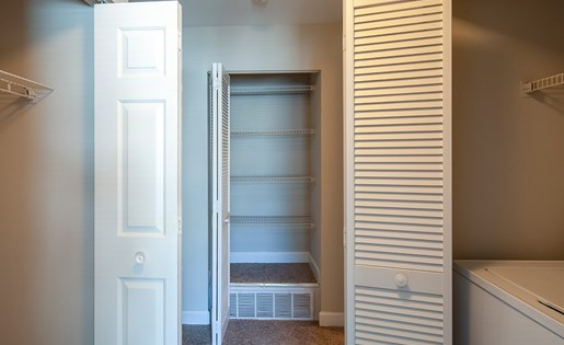 Waterman's Crossing Apartments Closets
