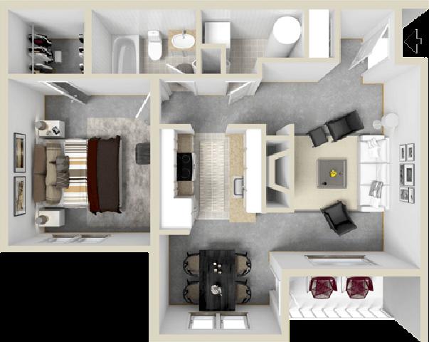Bay Breeze Floor Plan 1