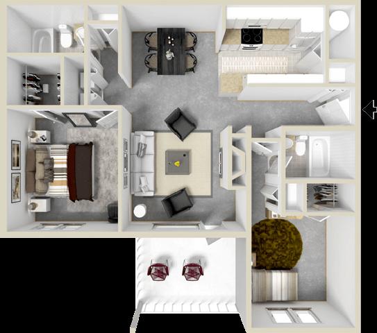 The Channels Floor Plan 3