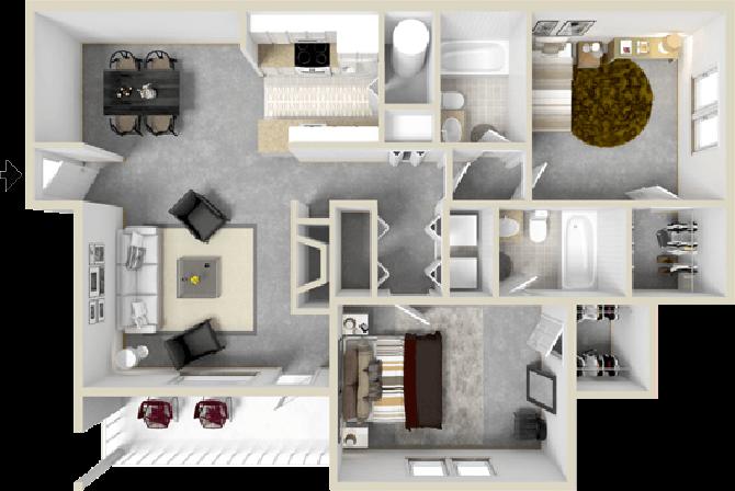 The Current Floor Plan 4