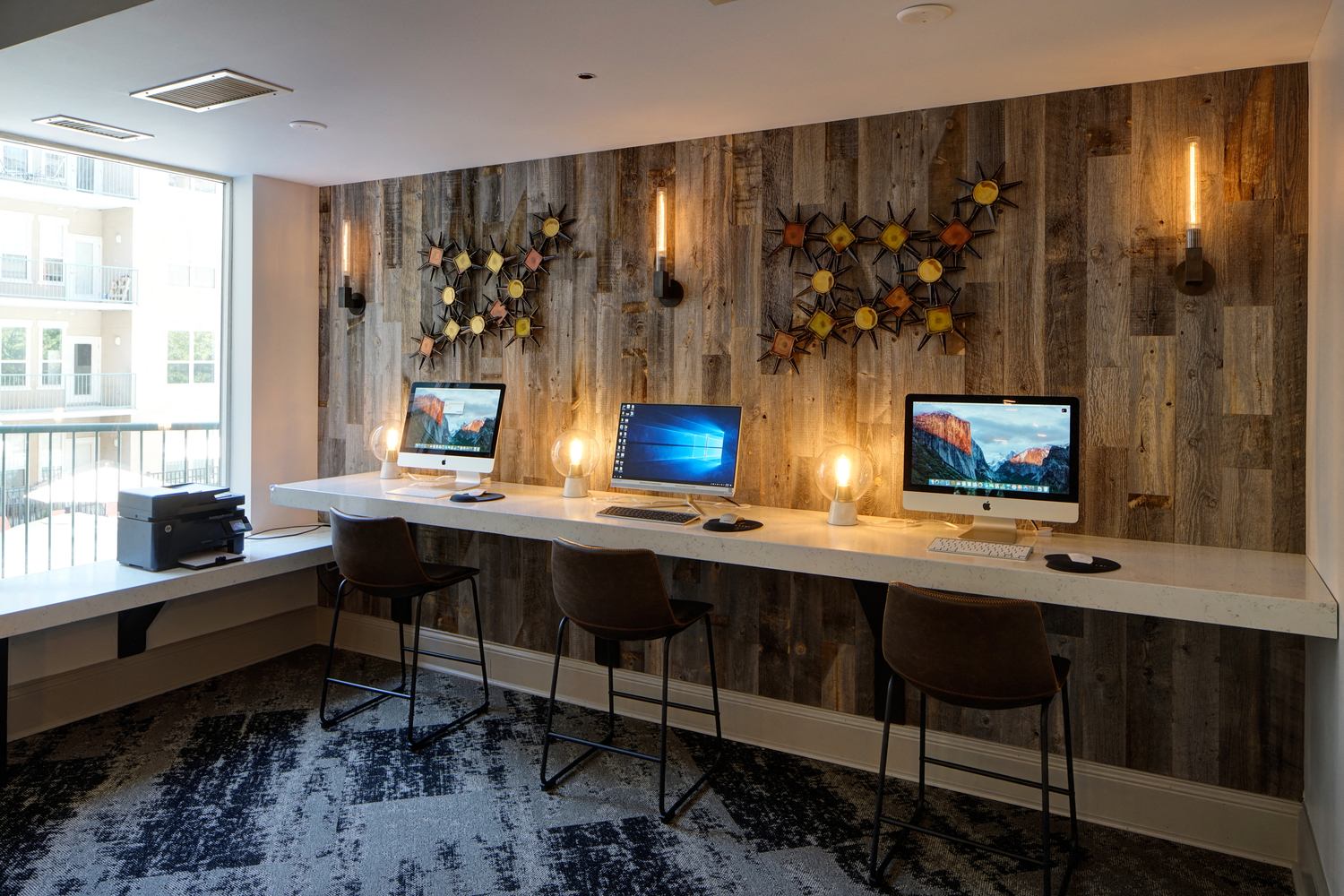 Business Center with High Speed Internet at City View at the Highlands, Lombard, 60148