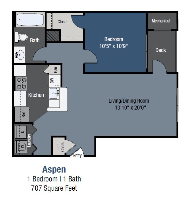 Aspen Floor Plan 1