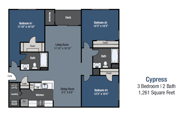 Cypress Floor Plan 9